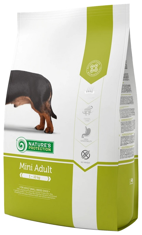 Nature's Protection Mini Adult - 細粒成犬糧7.5KGKG