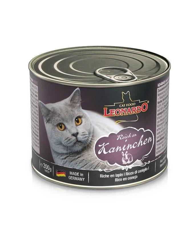 Leonardo兔肉貓貓罐頭 200G