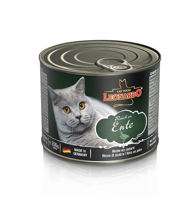 Leonardo鴨肉貓貓罐頭 200G
