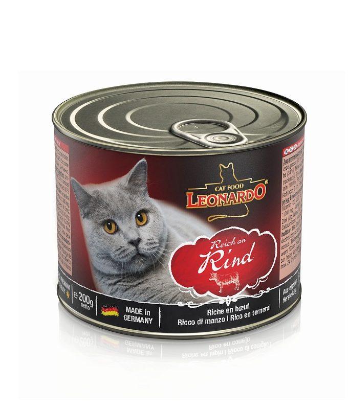 Leonardo 牛肉貓貓罐頭 200G