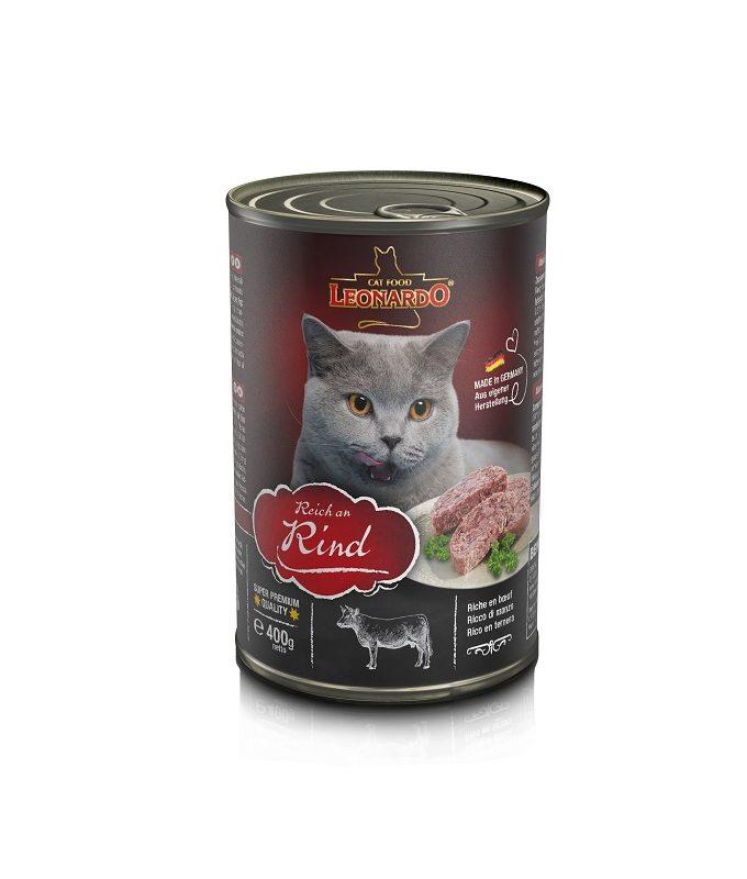 Leonardo牛肉貓貓罐頭 400G