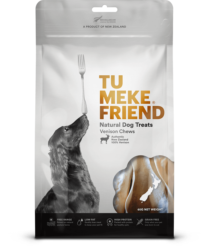 Tu Meke Friend Venison Chews