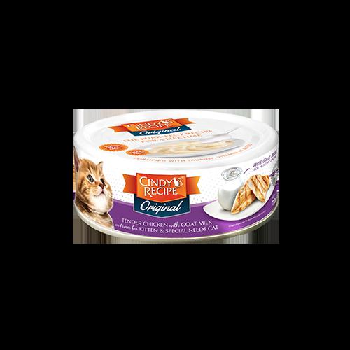 Cindy Recipe Cat Food | Cindy's Recipe Original 幼貓罐 鮮嫩雞肉