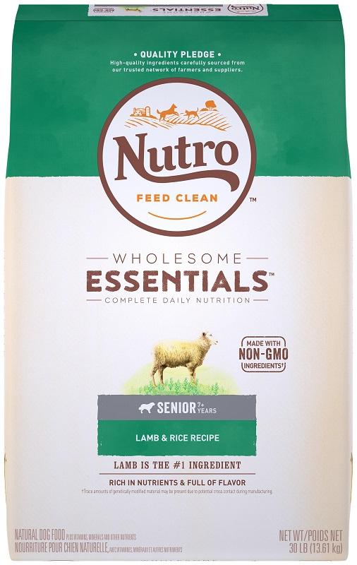 nutro senior dog food