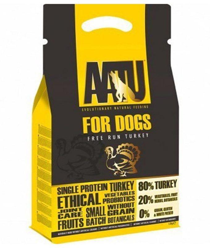 AATU 自然放養火雞成犬糧5KG