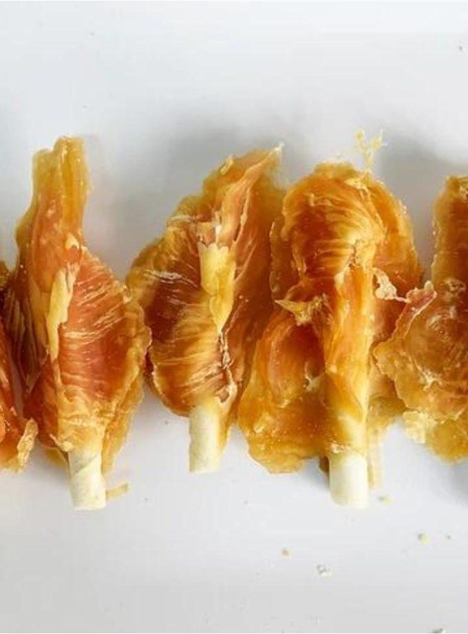 愛犬寵物小食系列 - 雞尖白牛皮棒