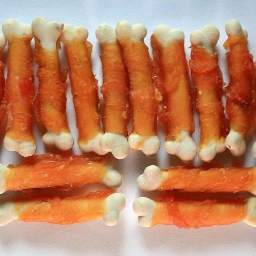愛犬寵物小食系列 - 雞肉繞鈣骨