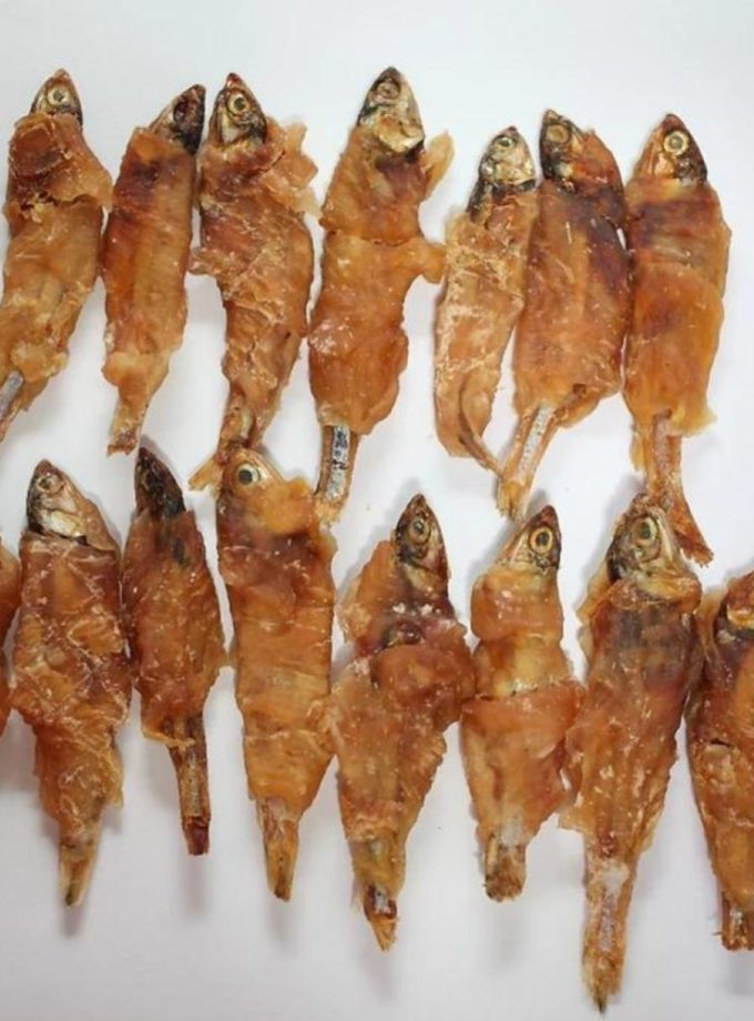 愛犬寵物小食系列 - 雞肉繞小魚
